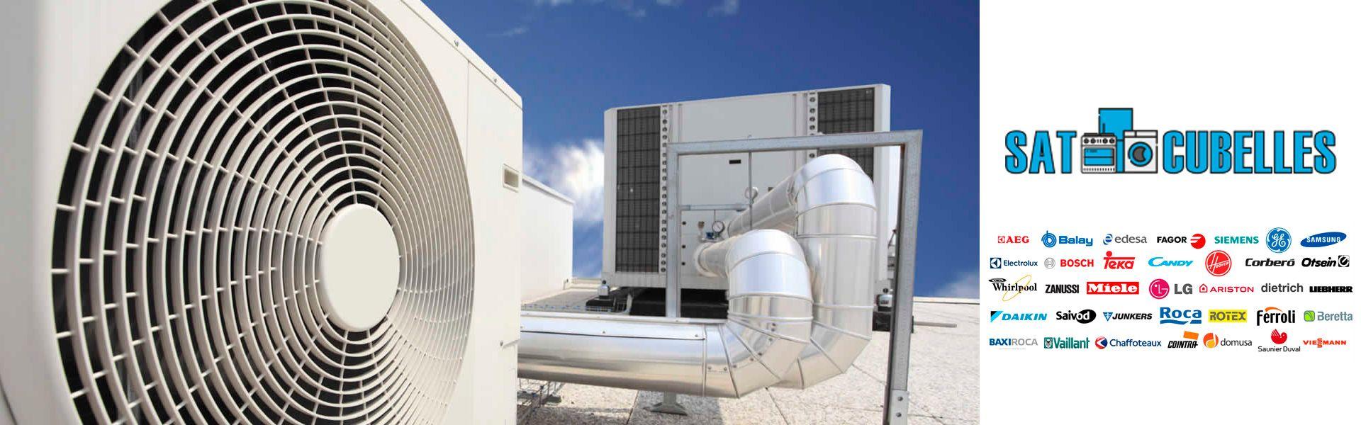 SAT Vilanova y Cubelles - Aire acondicionado calderas y Frio industrial